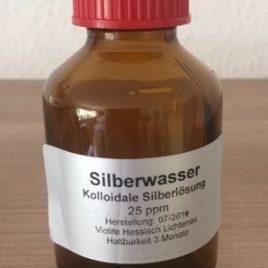 100ml Silber Kolloidales Wasser