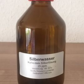 200ml Silber Kolloidales Wasser