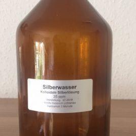 500ml Silber Kolloidales Wasser