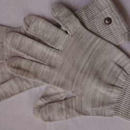 Massage-Handschuhe Material leitfähig mit Snap-Anschluss