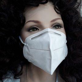 10 Stück Mund-Nasen-Masken FFP2 // 4-lagig – sofort lieferbar