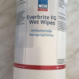 Everbrite FG WET WIPES – Reinigende u. desinf. Feuchttücher – sofort lieferbar
