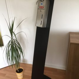 NCH-Hygiene-Tower für Händedesinfektion – HC Skin Desinfetant With Aloe II – sofort mieten!